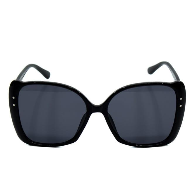 okulary przeciwsłoneczne kwadratowe hot trend czarne, tanio